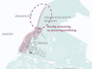 lokalisering detaljplan Kistagren